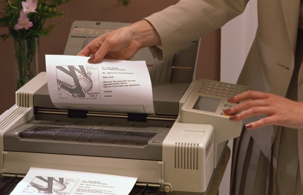 Stealing documents from printer